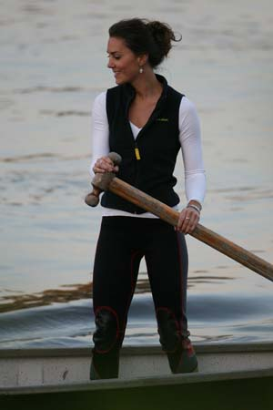 Kate Middleton Workout Clothes Training Dragon Boat