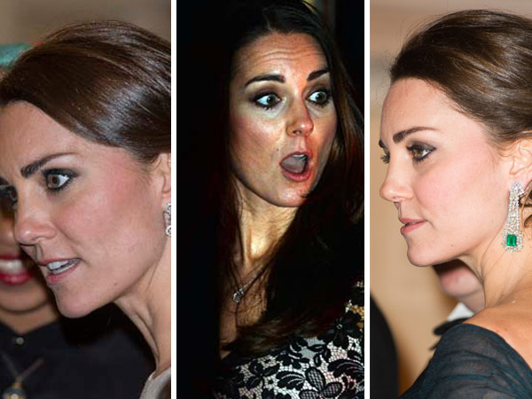 kate middleton horrified