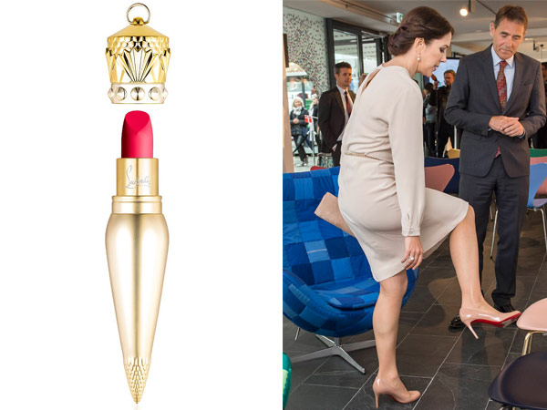 christian louboutin lipstick crown princess mary germany