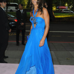 Pippa Middleton Blue Jenny Packham Gown 2015 Boodles Boxing Ball