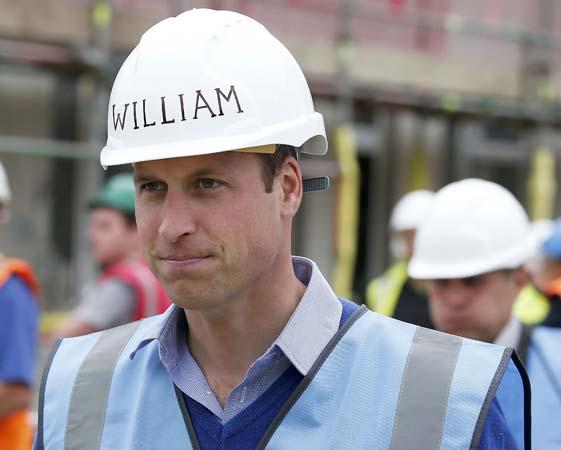 prince william hard hat bbc DIY SOS manchester