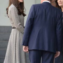 Kate Middleton Ralph Lauren Houndstooth Dress Anna Freud Center