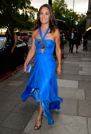 pippa middleton blue jenny packham dress boodles boxing ball 2015