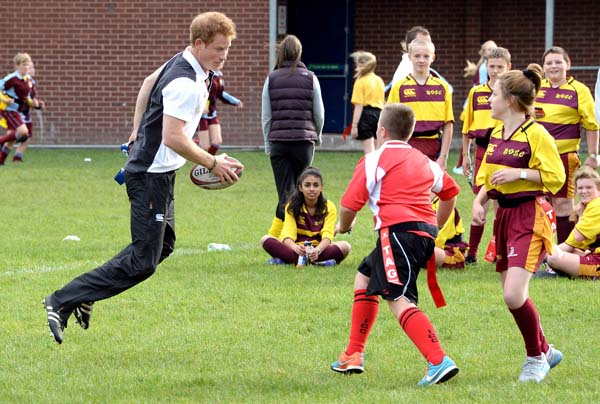 prince harry teacher training rugby program manchester uk