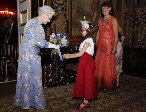 queen elizabeth reception royal national institute for blind