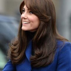 kate middleton blow out christopher kane blue coat