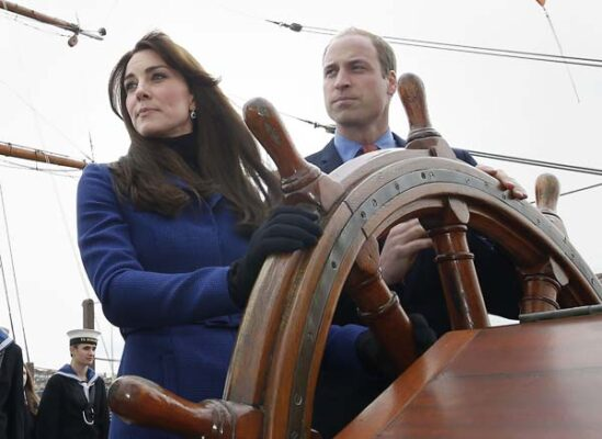 kate middleton prince william royal research ship discovery