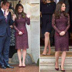 kate middleton lace dolce gabbana dress lancaster house