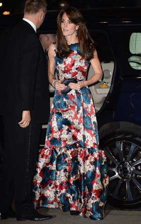 kate middleton erdem gown 100 women in hedge funds gala