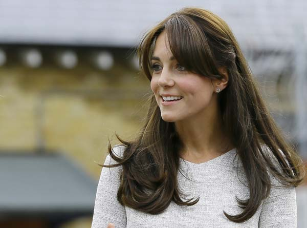 kate middleton visits hmp send women's prison