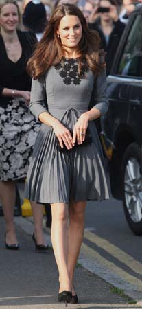 Kate Middleton Dulwich Picture Gallery Orla Kiely Dress