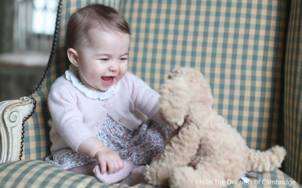 princess charlotte laughing stuffed animal