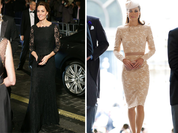 kate middleton various lace dresses lead image