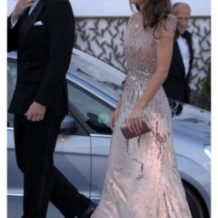 prince william kate middleton jenny packham dress ark gala 2011