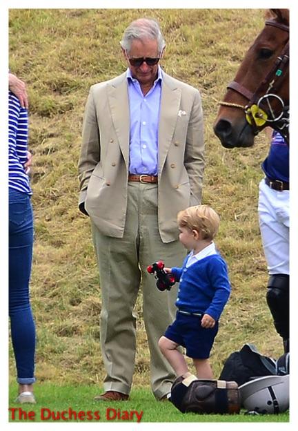 Prince Charles Looks Prince George Festival Polo