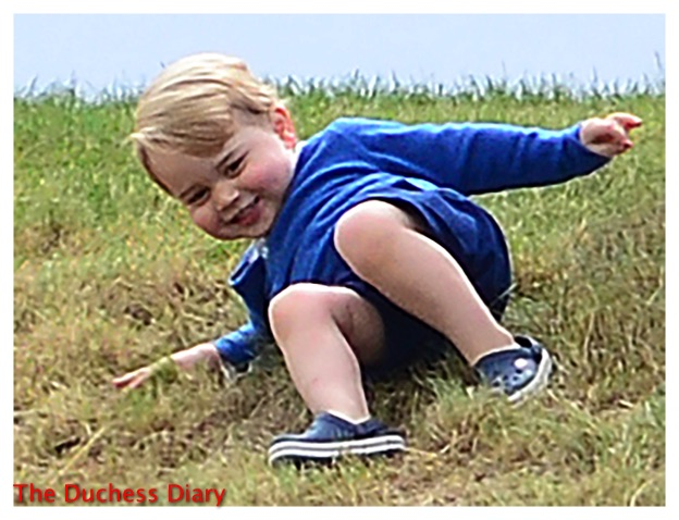 prince george tumbles down hill festival of polo 2015