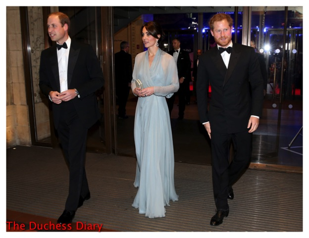 "The Duke and Duchess of Cambridge and Prince Harry attend the World Premiere of ""Spectre"" at the Royal Albert Hall, London, UK, on the 26th October 2015. Picture by Chris Jackson/WPA-Pool Pictured: Prince William, Duke of Cambridge, Duchess of Cambridge, Catherine, Kate Middleton, Prince Harry Ref: SPL1161960 261015 Picture by: Splash News Splash News and Pictures Los Angeles:310-821-2666 New York: 212-619-2666 London: 870-934-2666 photodesk@splashnews.com"