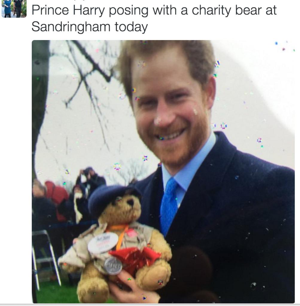 prince harry teddy bear sandringham