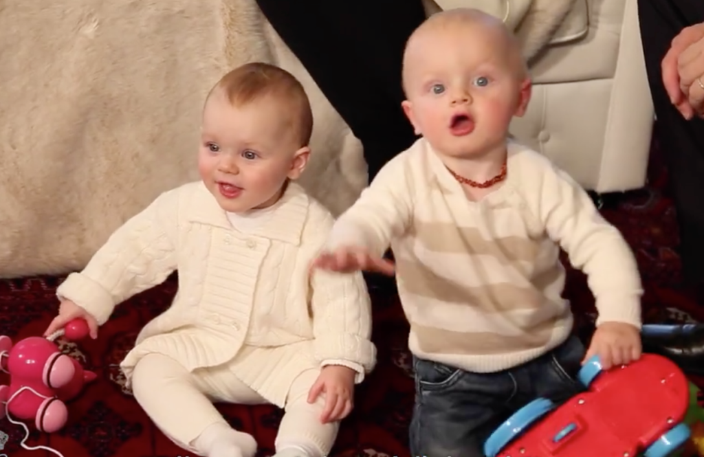 Prince Jacques and Princess Gabriella end of year interview 2015