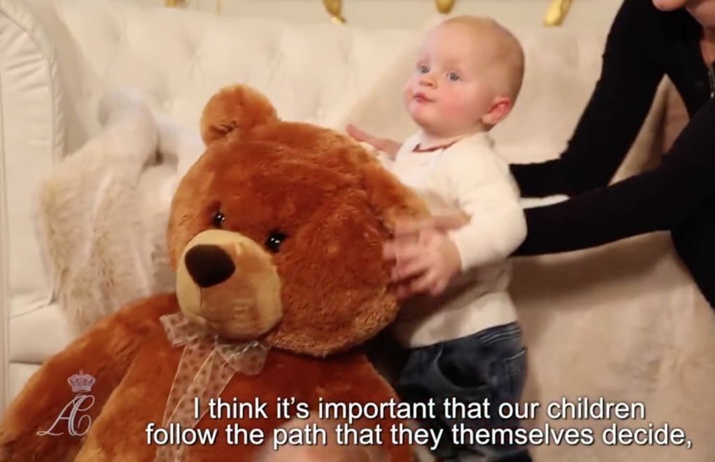 prince jacques teddy bear