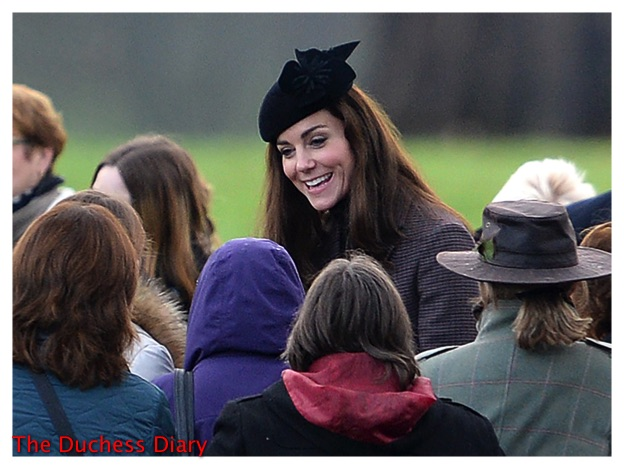 kate middleton smiles sylvia fletcher lock & co hat st mary magdalene church