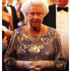 Queen Elizabeth hosts reception National Institute Blind St. James Palace