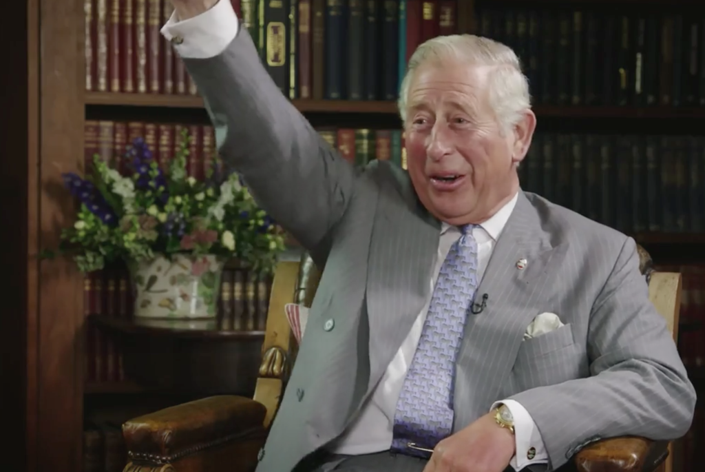 prince charles interview trust at 40