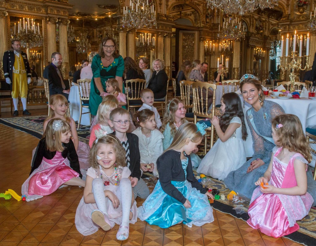 princess madeleine hosts tea party sick children charity