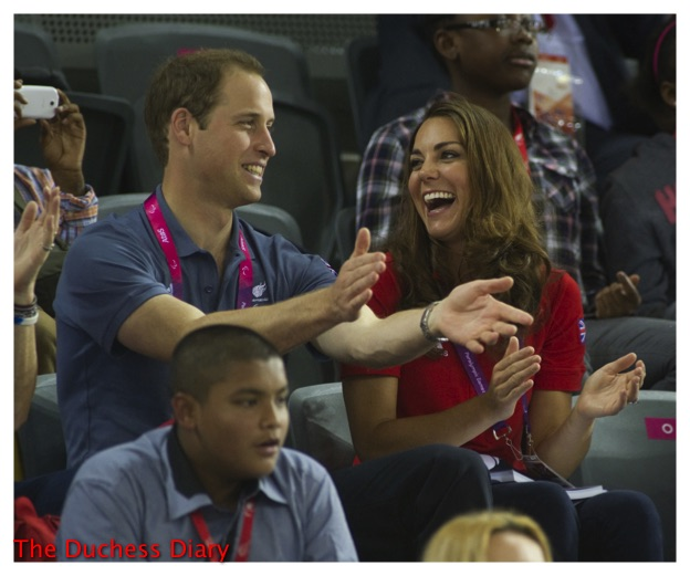 kate middleton laughs prince william paralympic games
