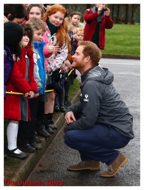 Prince Harry Chats With Children Preston Lancashire