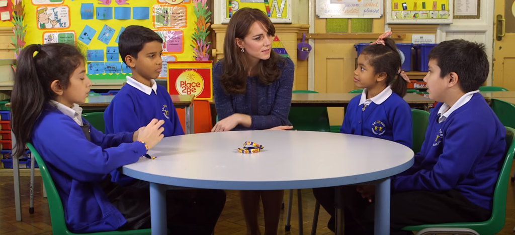 kate middleton children's mental health week 2016