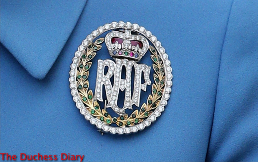duchess of cambridge air cadet brooch london