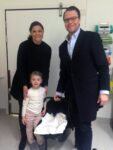 crown princess victoria estelle prince daniel take oscar home hospital sweden