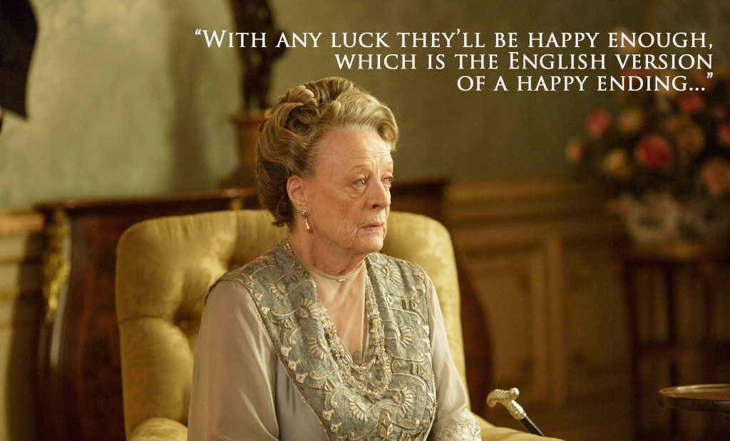 dowager countess english version happy ending downton abbey