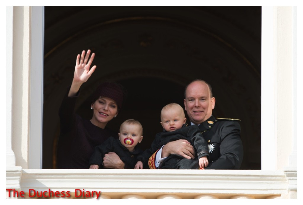 monaco twins parents balcony national day