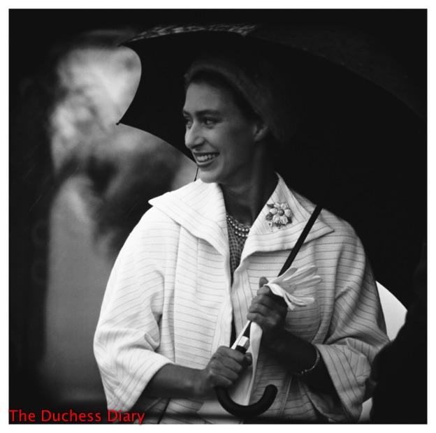 princess margaret smiles arrives England tour of Canada