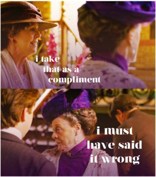 dowager countess insults isobel crawley downton abbey