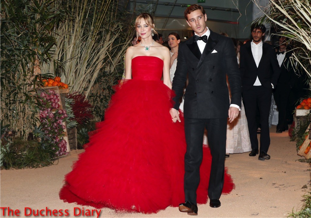 beatrice borromeo giambattista valli ball de la rose