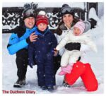 prince william kate middleton prince george princess charlotte french alps family photo