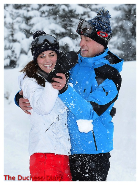 prince william huge kate middleton french alps photo op