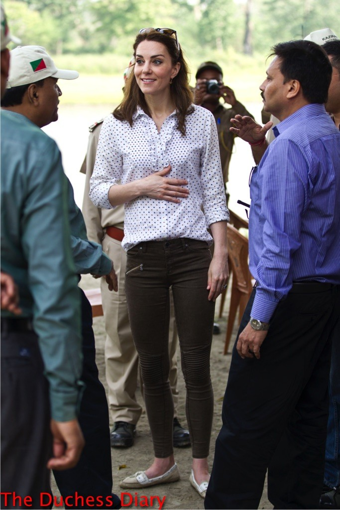kate middleton speaks kaziranga national park