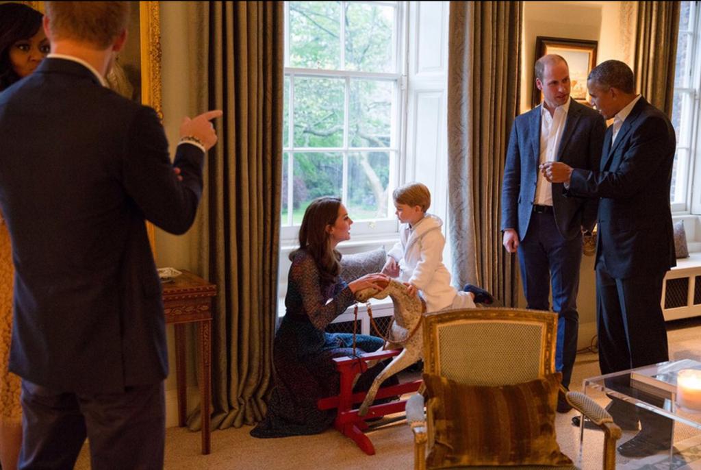 prince george robe talks kate middleton kensington palace