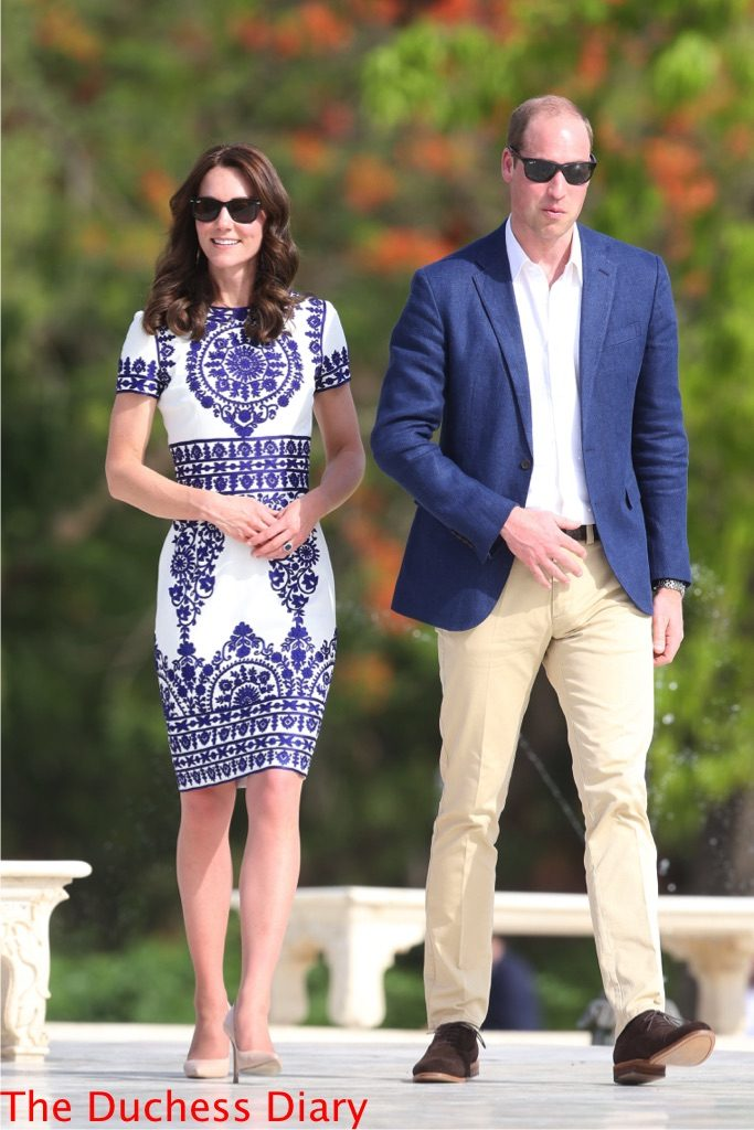 prince william kate middleton taj mahal