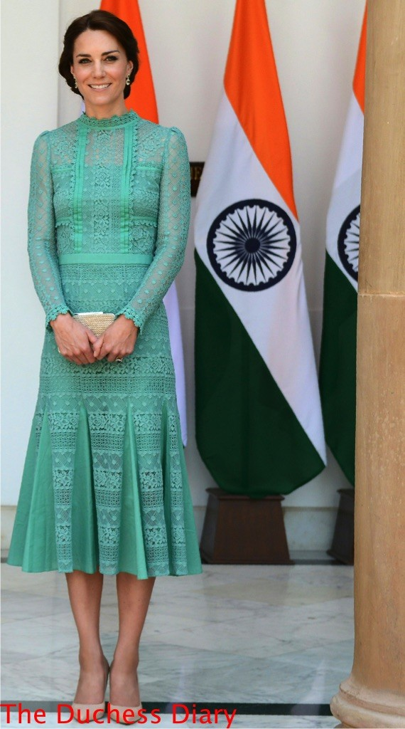 kate middleton temperley london desdemona dress new delhi