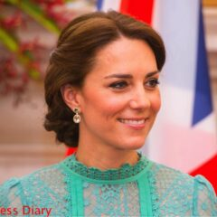 kate middleton kiki mcdonough earrings prime minister meeting