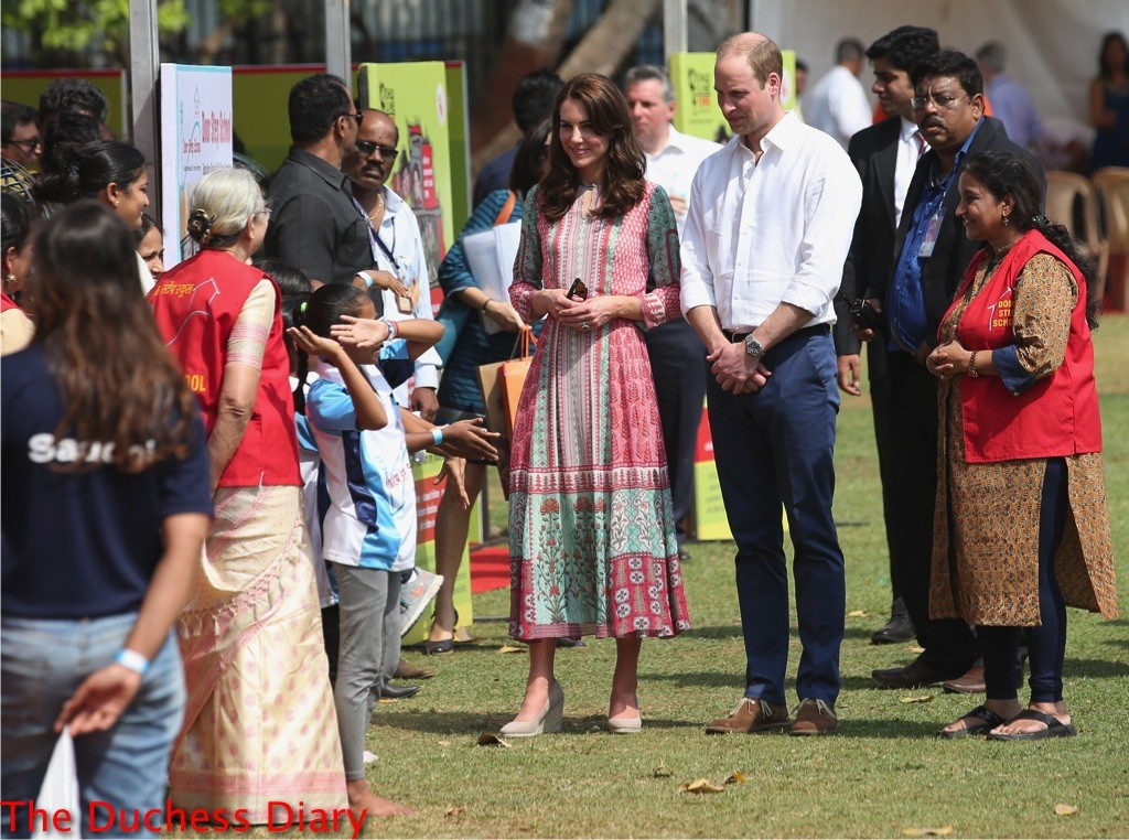 prince william kate middleton mumbai