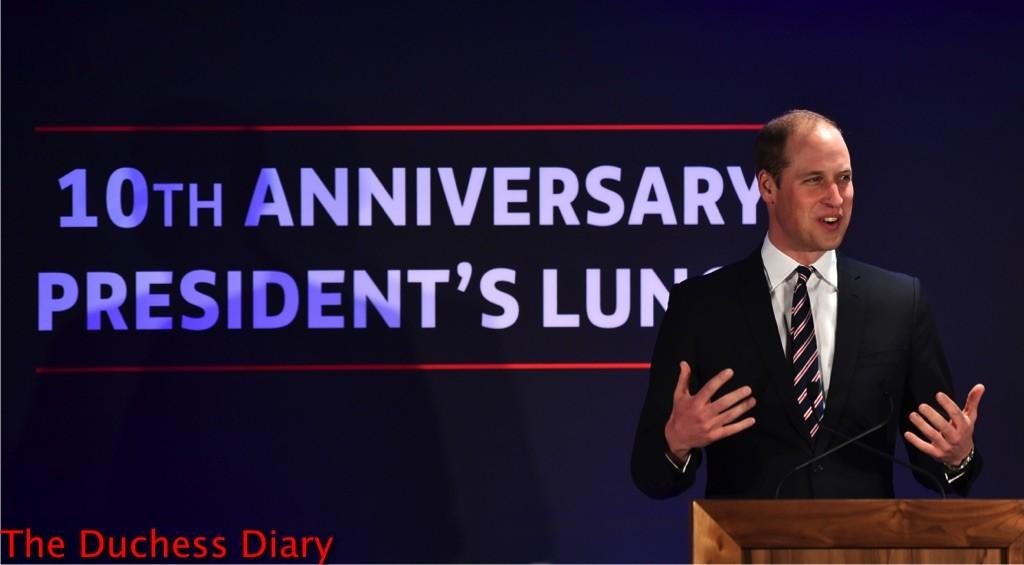 prince william speech 10th anniversary football association president