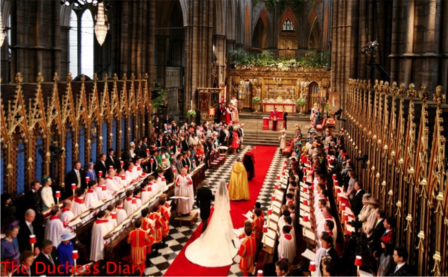 michael middleton walks kate middleton down aisle westminster abbey