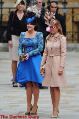 princess beatrice valetino dress princess eugenie blue dress royal wedding