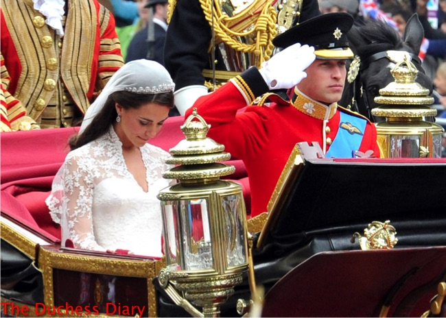 kate middleton prince william pay respects cenotaph royal wedding